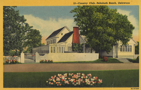 1934 Postcard of the building